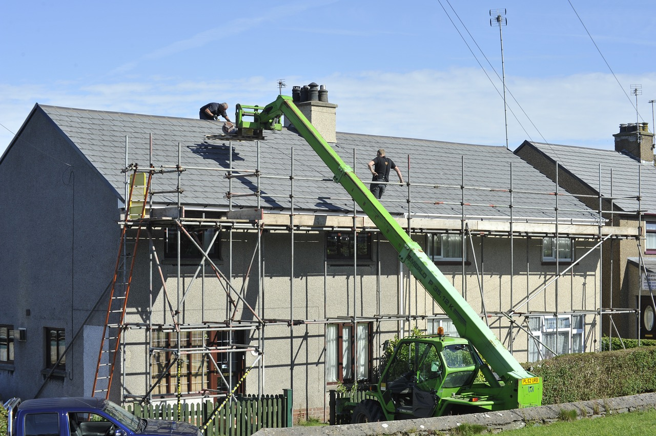 You can sell your house without putting on a new roof.